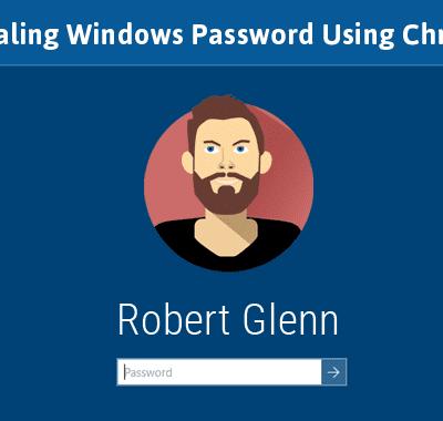 Hacker mampu mencuri password Windows menggunakan Chrome