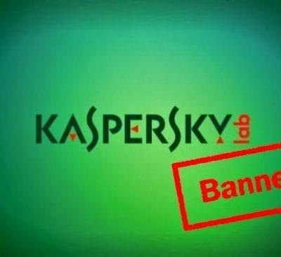 Kaspersky Labs Dibanned