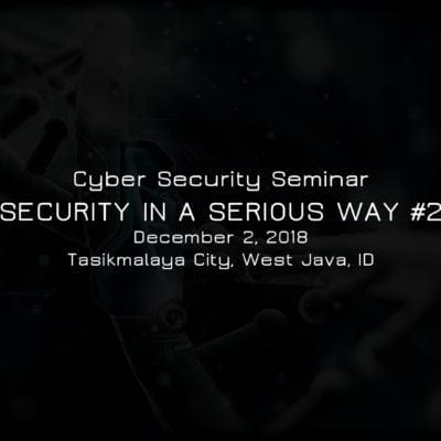 Security in a Serious Way #2