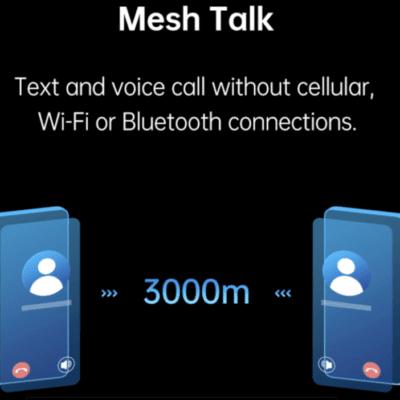 Mesh Talk sistem Komunikasi baru