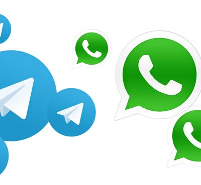 WhatsApp dan Telegram