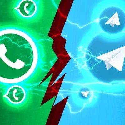 WhatsApp Meniru Telegram