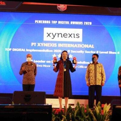 Xynexis Raih Penghargaan Top Digital Awards 2020